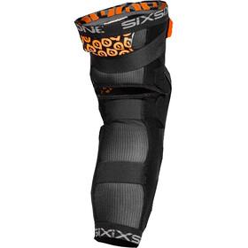 SixSixOne Rage Hard Knee/Shin Guard black